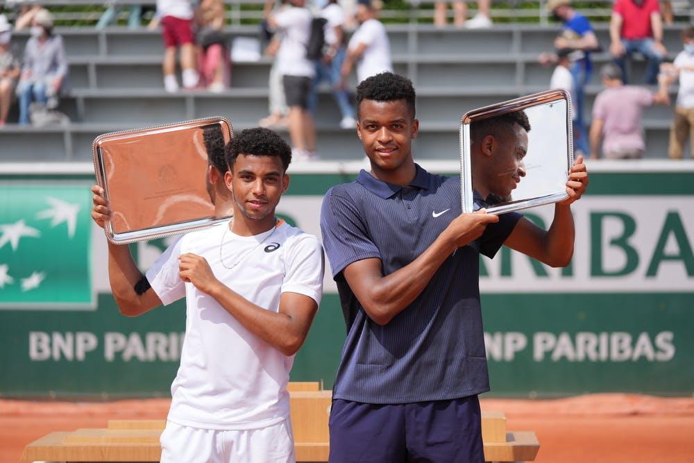 Arthur Fils, Giovanni Mpetshi Perricard, Roland-Garros 2021, boys' doubles final