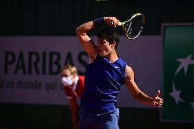 Carlos Alcaraz Roland Garros 2021