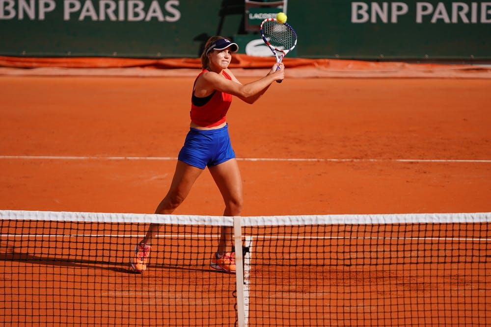Sofia Kenin, Roland-Garros 2020, entraînement