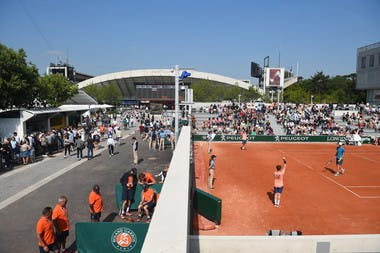 Roland-Garros qualifiers 2018 atmosphere