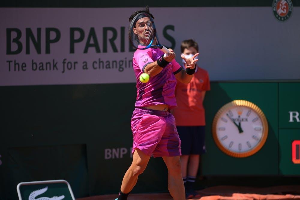 Fabio Fognini, Roland-Garros 2021