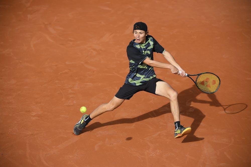 Alex Barrena, Roland Garros 2020, juniors third round