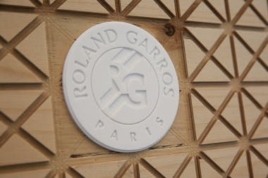 Logo Roland-Garros during Roland-Garros 2019