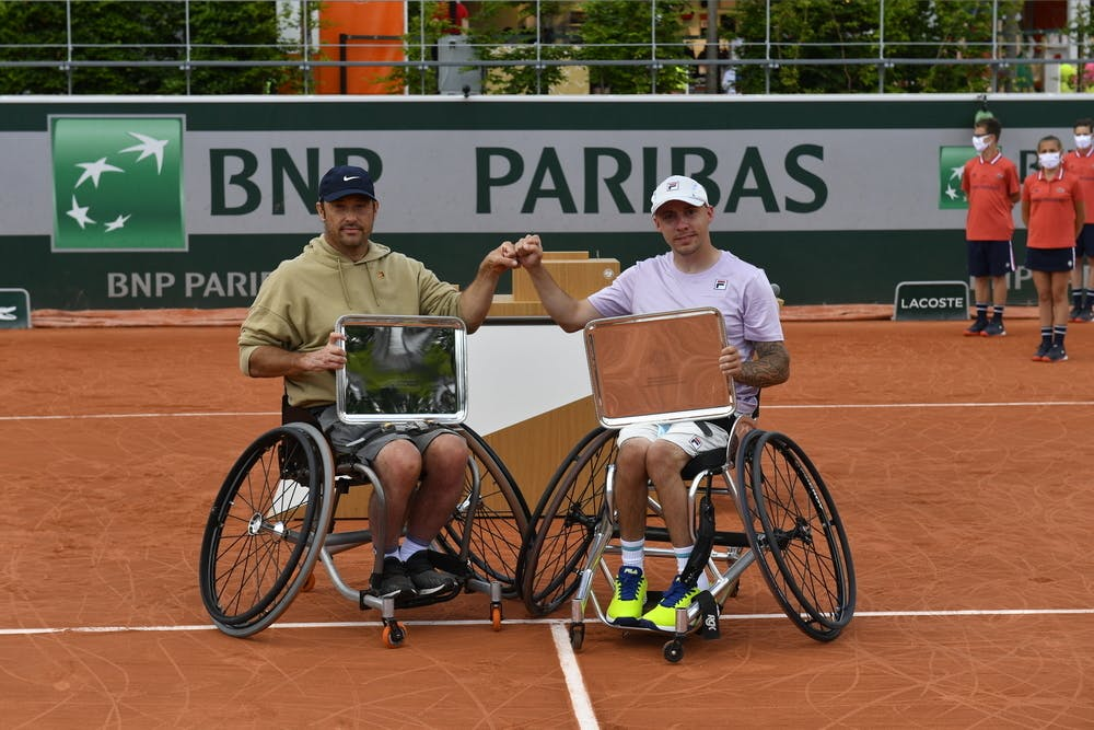 David Wagner, Andy Lapthorne, Roland-Garros 2021, men's quad doubles final