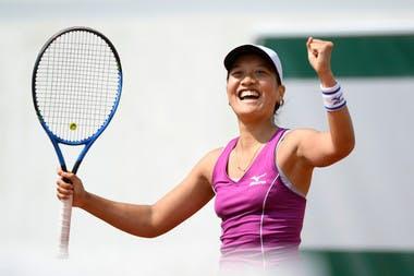 Roland-Garros 2018, Harmony Tan
