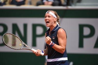 Kiki Bertens round one Roland Garros 2019 Parmentier