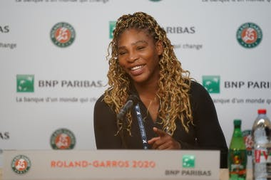 Serena Williams, Roland Garros 2020, press conference