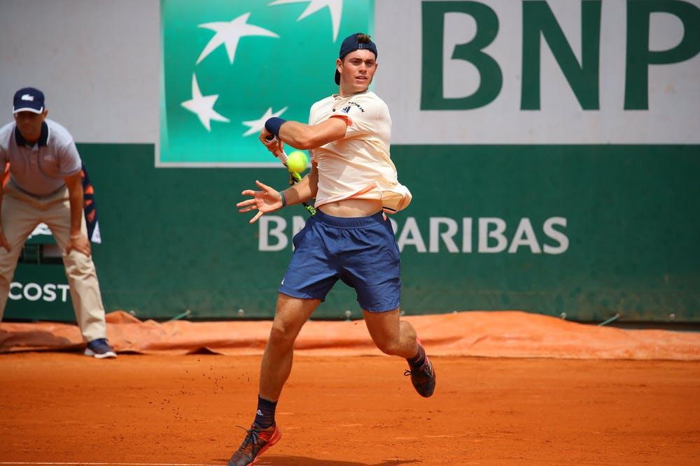 Maximilian Marterer Roland-Garros 2018.