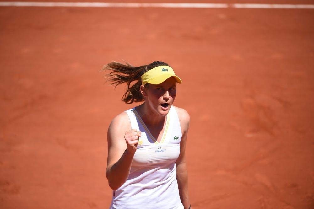 Fiona Ferro, Roland-Garros 2021