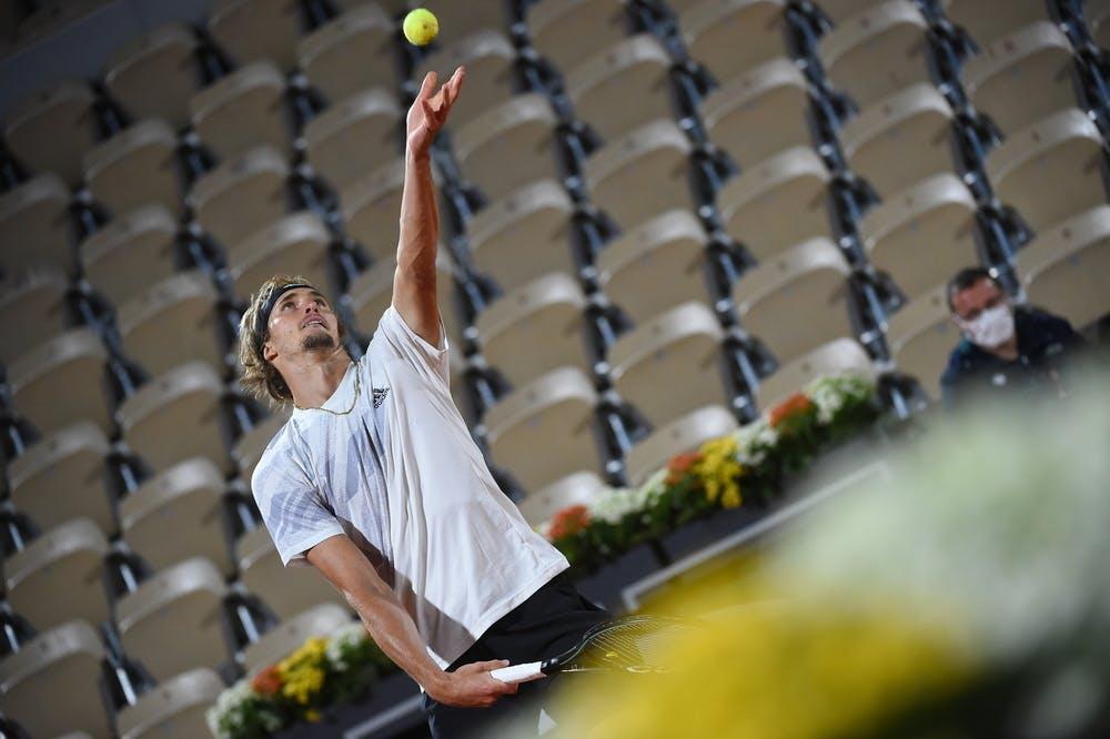 Alexander Zverev, Roland Garros 2021, third round