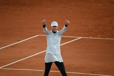 Iga Swiatek, Roland-Garros 2020, 1/4 de finale