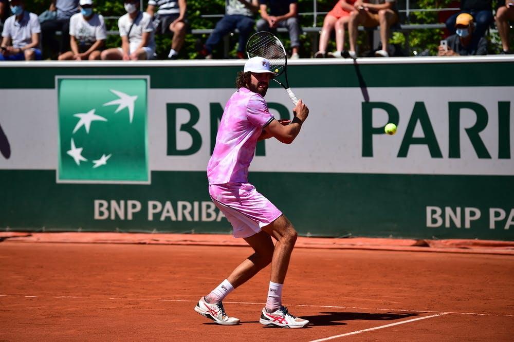 Reilly Opelka, Roland Garros 2021, first round