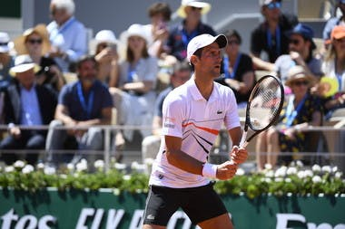 Novak Djokovic third round Caruso Roland Garros 2019