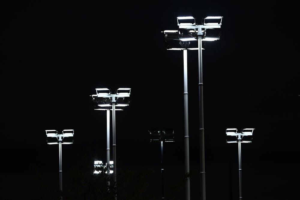 Roland-Garros 2020, projecteurs