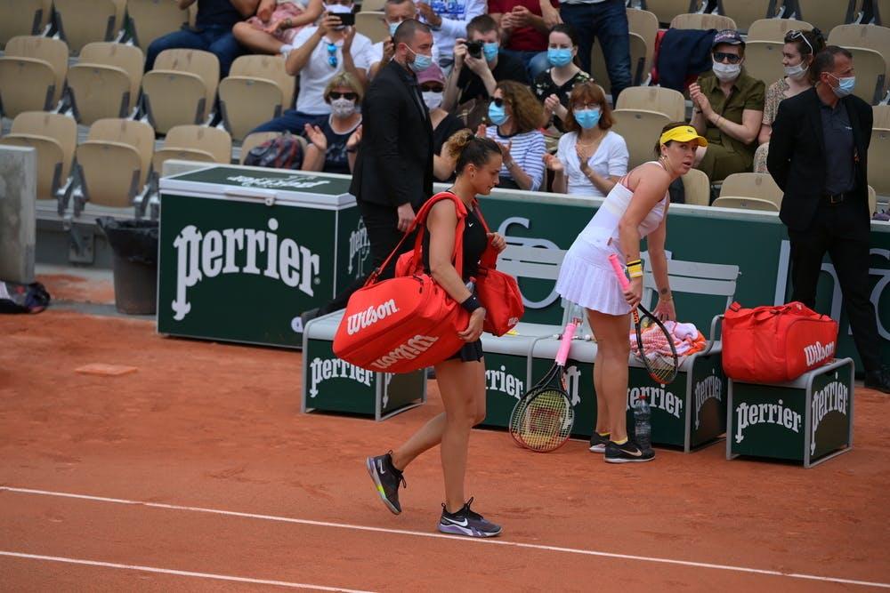 Aryna Sabalenka, Anastasia Pavlyuchenkova, Roland Garros 2021, third round
