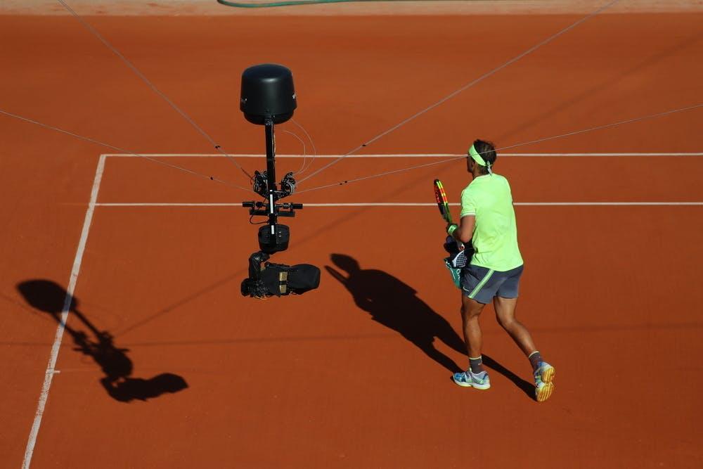 Camera Rafael Nadal Roland-Garros