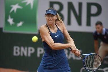 Roland-Garros 2018, Maria Sharapova, 1er tour, 1s round