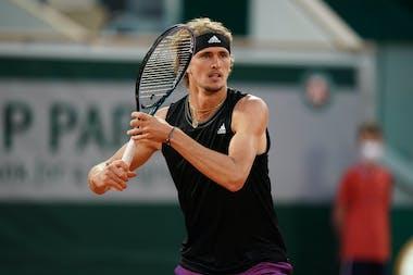 Aleander Zverev Roland-Garros 2021