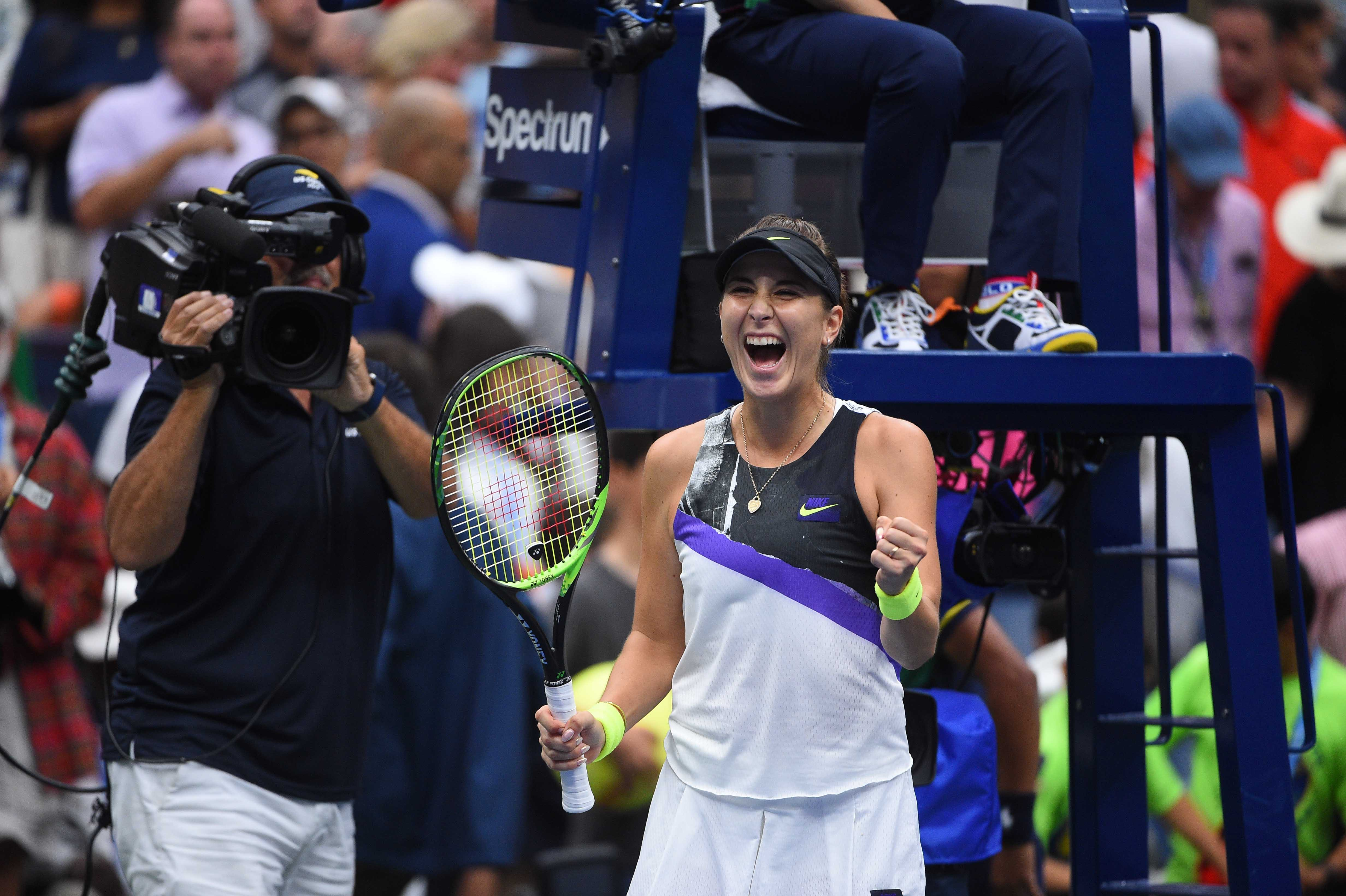 All smile for Belinda Bencic at the 2019 US Open