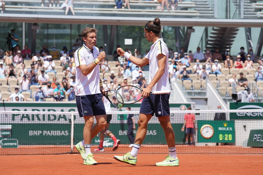 Pierre-Hugues Herbert, Nicolas Mahut, Roland-Garros 2021, semi-finals