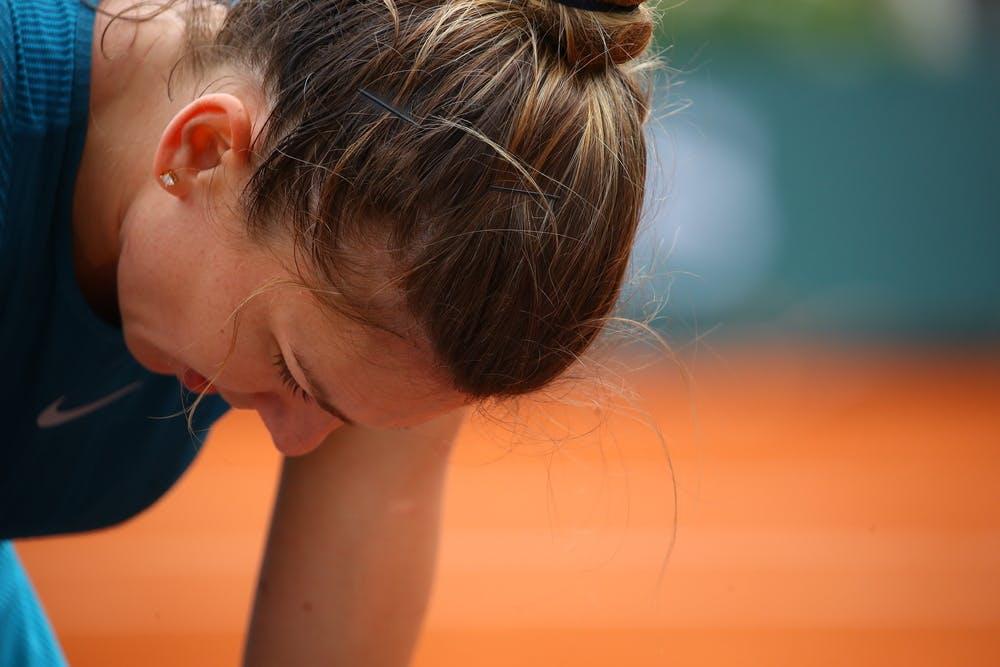 Simona Halep 1er tour Roland-Garros 2018