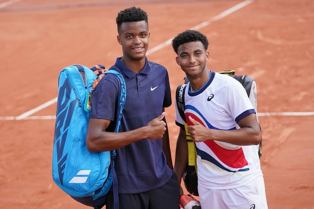 Giovanni Mpetshi-Perricard, Arthur Fils, Roland-Garros 2021, second round