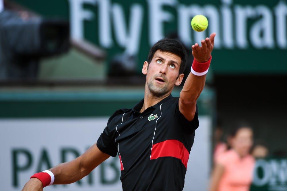 Novak Djokovic, Roland Garros 2018, Simple Messieurs, 1/8 de Finale
