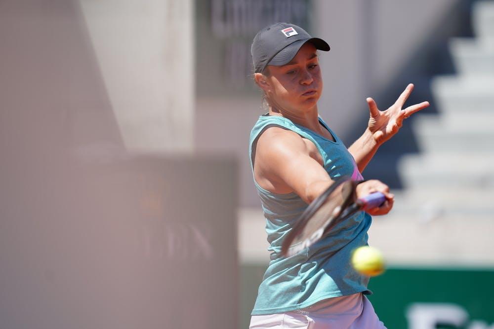 Ashleigh Barty, Roland Garros 2021 practice