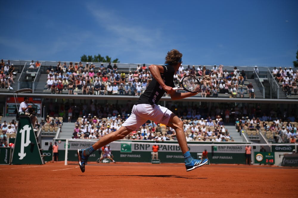Alexander Zverev Dusan Lajovic Roland-Garros 2019