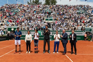 Marcelo Melo and Justine Henin Juniors Wild card series at Roland-Garros 2019