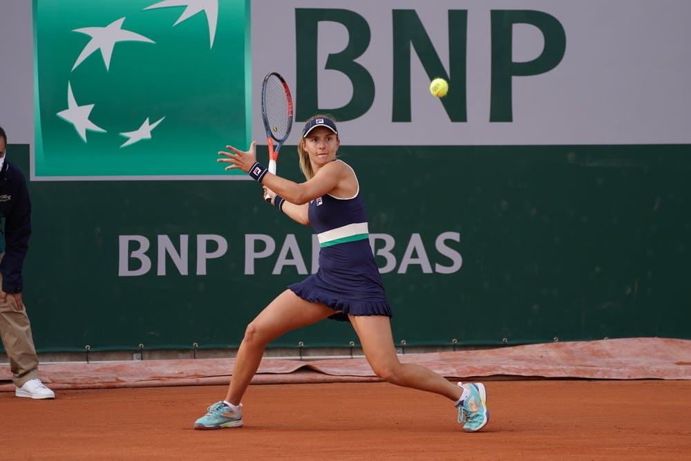 Nadia Podoroska, Roland Garros, qualifying second round