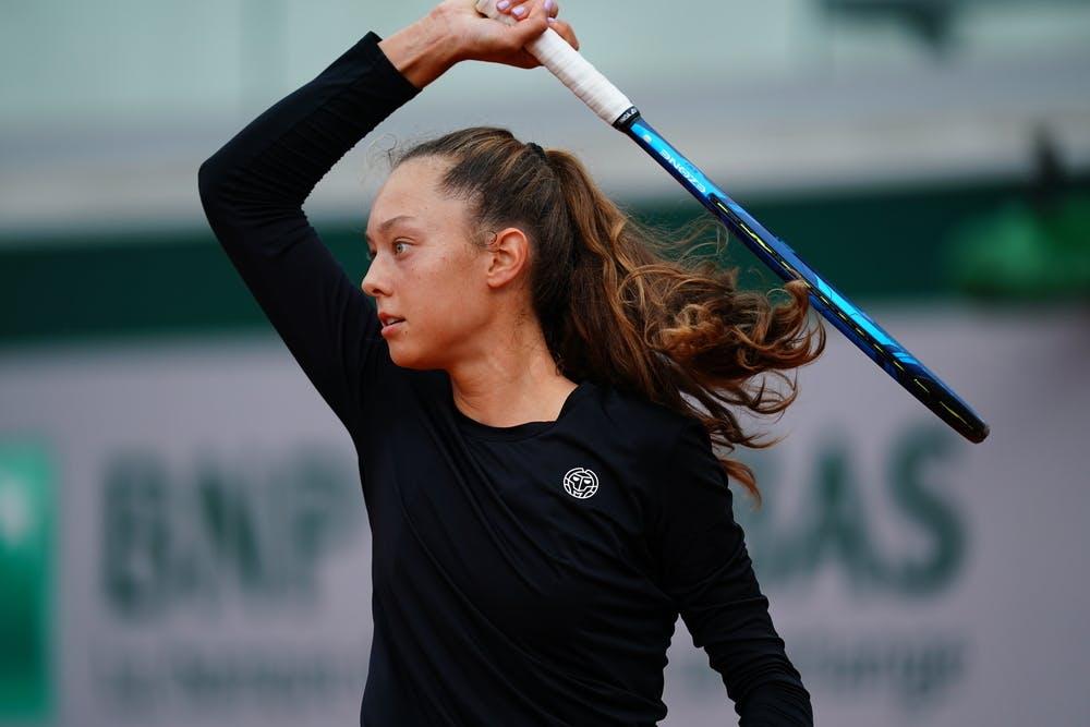 Darja Vidmanova, Roland Garros 2020, girls' singles, second round