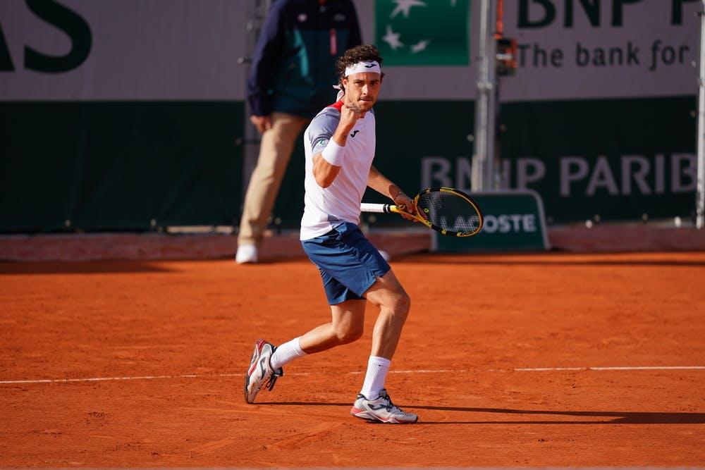 Marco Cecchinato, Roland-Garros 2020, qualifying