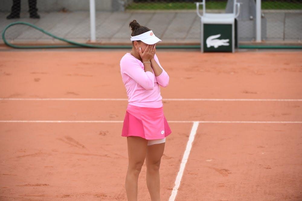 Kamilla Rakhimova, Roland Garros 2020, first round