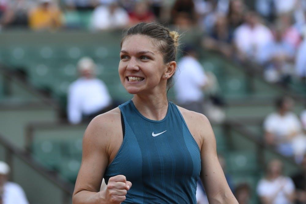 Roland-Garros 2018, Simona Halep, 2e tour, 2nd round