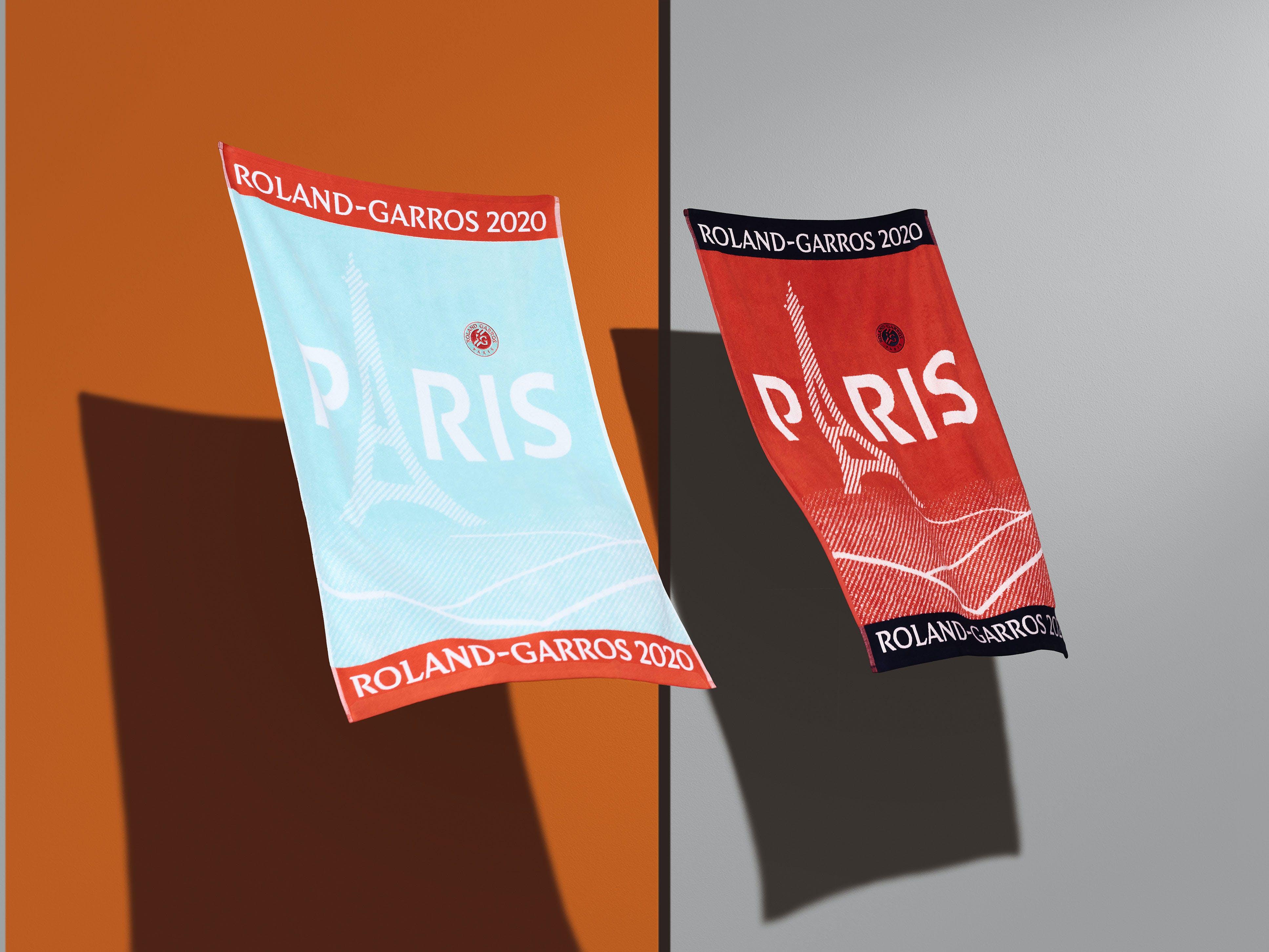 Serviettes officielles Roland-Garros