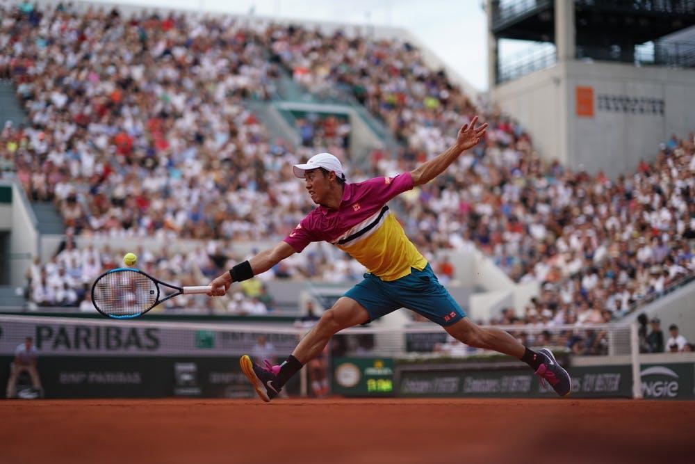 Kei Nishikori Roland-Garros 2019