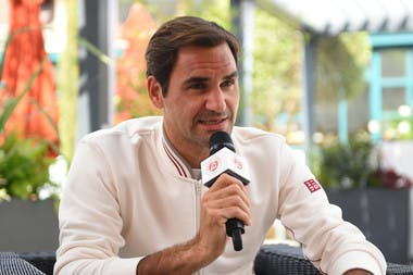 Roger Federer - Roland-Garros 2019 - Interview