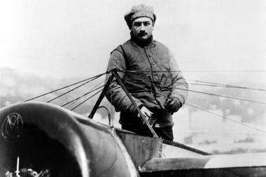 Roland Garros aviateur rallye Monaco 1914