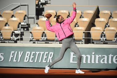 Victoria Azarenka, Roland-Garros 2020, entraînement