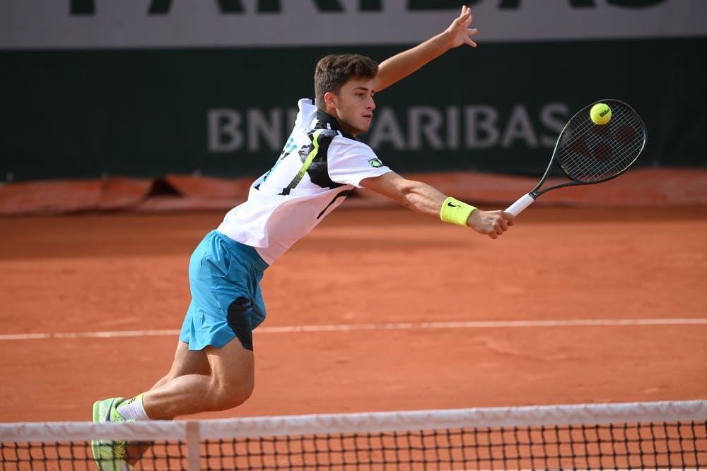 Luca Nardi, Roland Garros 2020, juniors third round