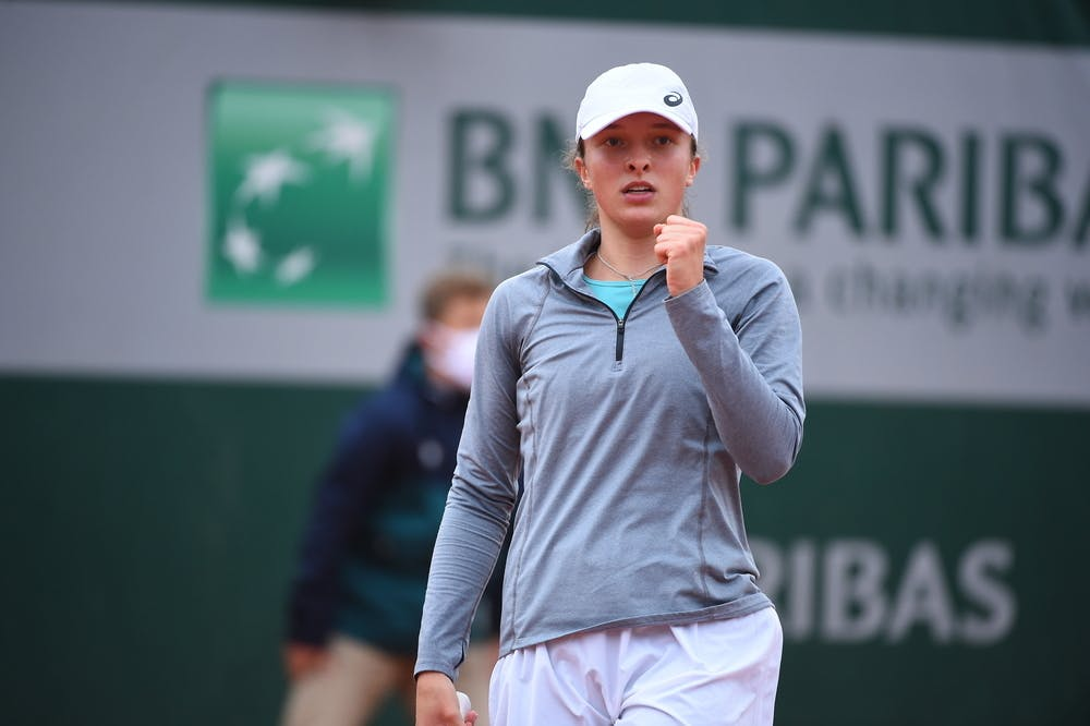 Iga Swiatek, Roland Garros 2020, first round