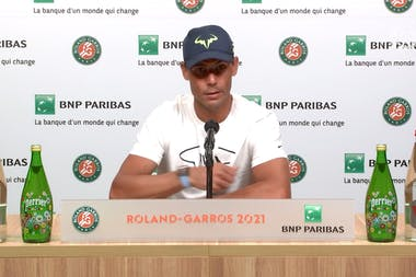 Conférence de presse Rafael Nadal - Huitièmes de finale Roland-Garros 2021