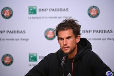 Dominic Thiem Roland-Garros 2021
