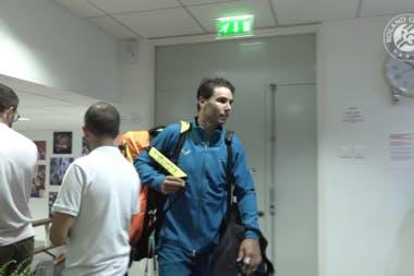 Roland-Garros 2018, Rafael Nadal, vestiaires