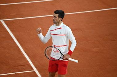 Novak Djokovic, Roland Garros 2020, quarter-final