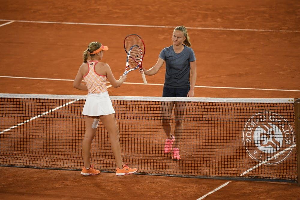 Fiona Ferro Roland-Garros 2020