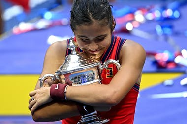 Emma Raducanu / US Open 2021 Trophy