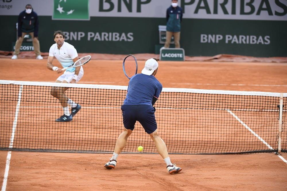 Jérémy Chardy, Jurij Rodionov, Roland-Garros 2020