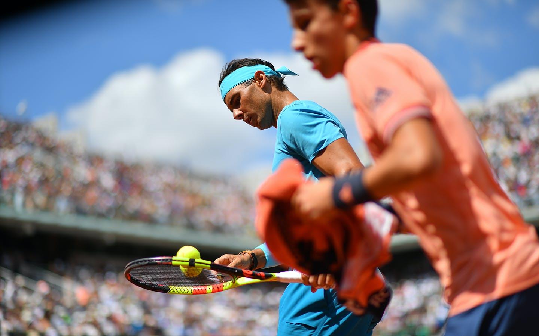 Rafael Nadal, Roland Garros 2018, Simple Messieurs, 3eme Tour